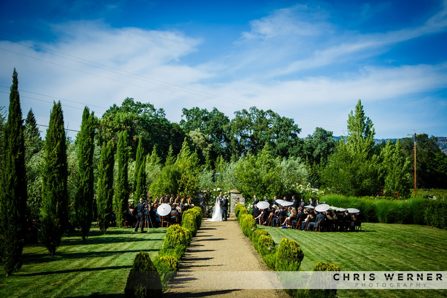 Napa Valley private estate Wedding Venues