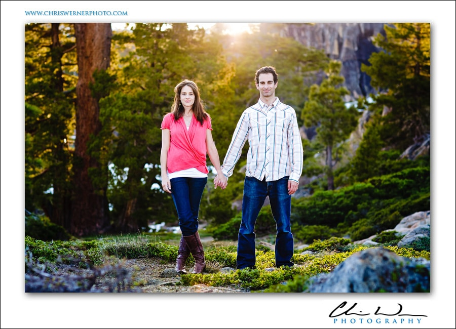 Truckee Engagement Photography, Lake Tahoe.