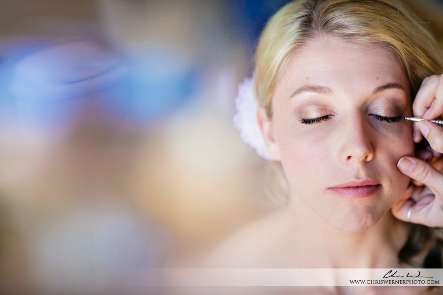 Photos of a bride getting ready, Mourelatos Lake Tahoe Wedding Photographers.