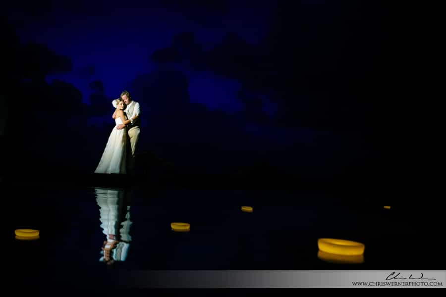 Anguilla wedding photos of the bride and groom.