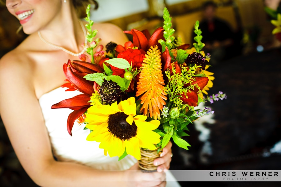 Sunflower Bridal Bouquets