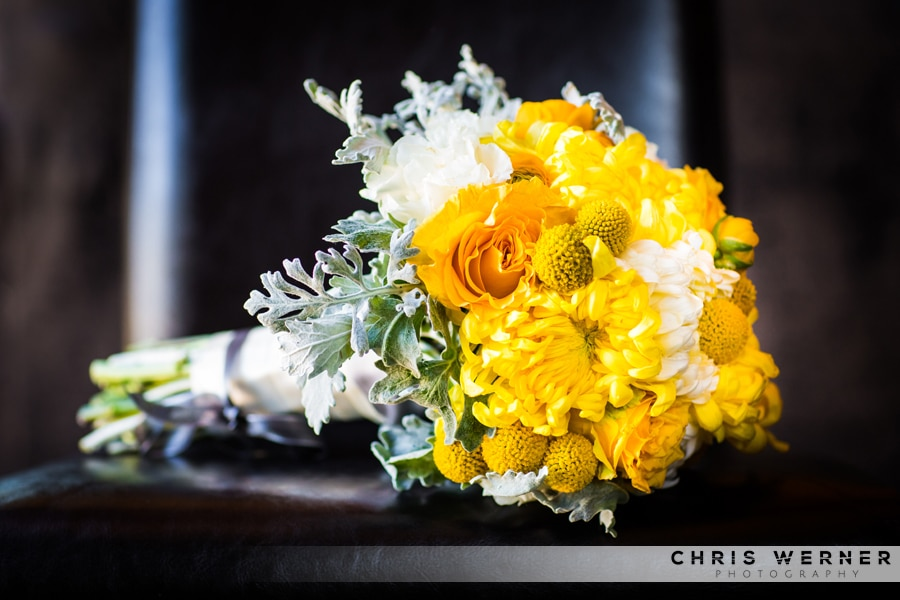 Yellow Bridal Bouquets