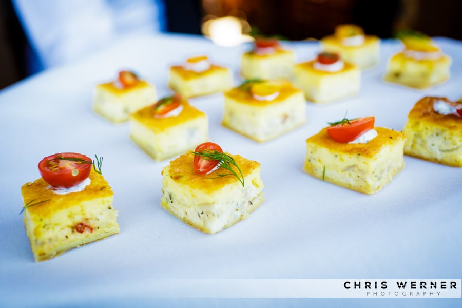 Lake Tahoe Wedding Reception Appetizers and Hors d\'Oeuvres