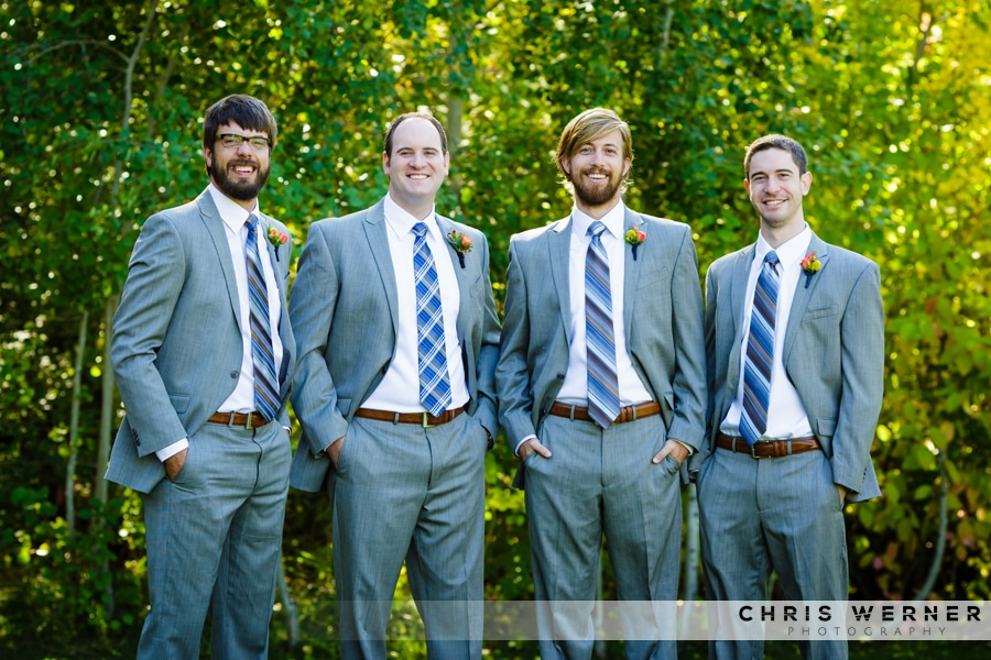 Grey wedding suits ideas.
