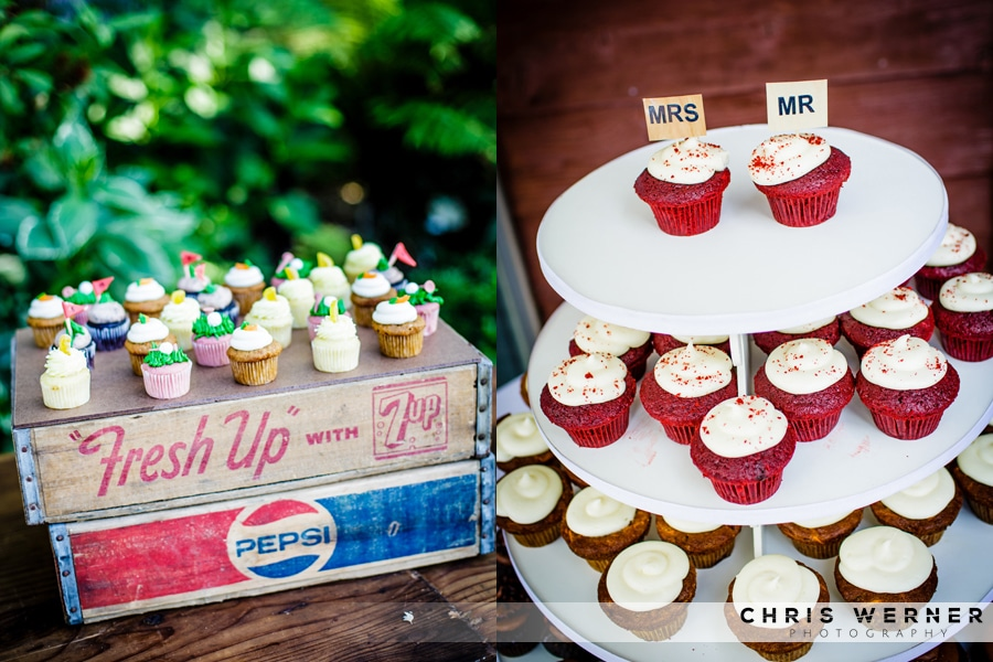 Cupcakes as Wedding Cake Alternatives