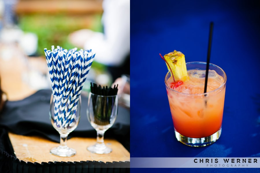 Colorful Wedding Cocktail Ideas