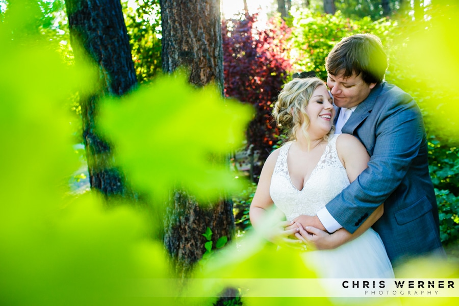 Lake Tahoe Tree Company wedding photo