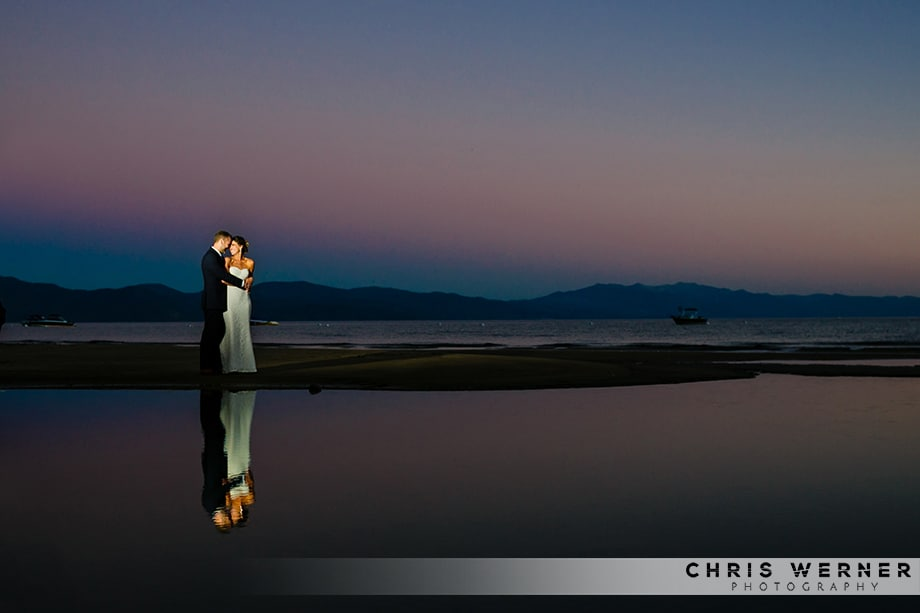 Lake Tahoe west shore wedding by one of the top wedding photographers in Tahoe.