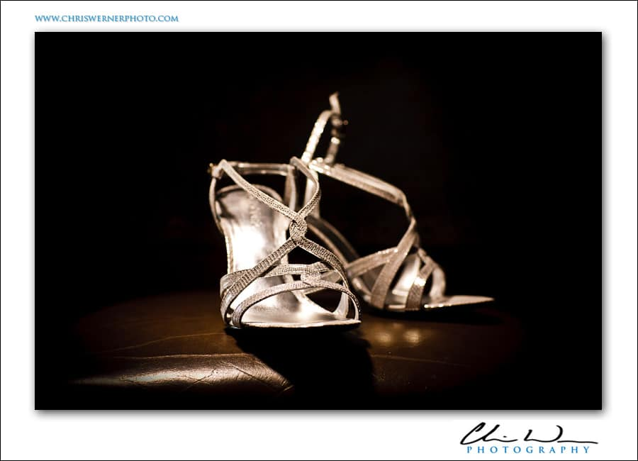 Wild Basin Lodge Wedding shoes.