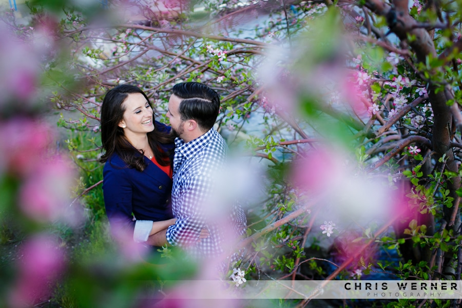 Lake Tahoe engagement photos in Truckee.