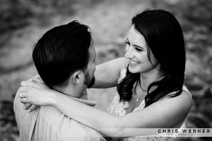 Lake Tahoe engagement photos near Tahoe City.